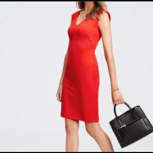 New Ann Taylor red dress 8